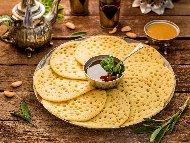 Марокански палачинки Багрир с царевично и пшеничено брашно (с мая)